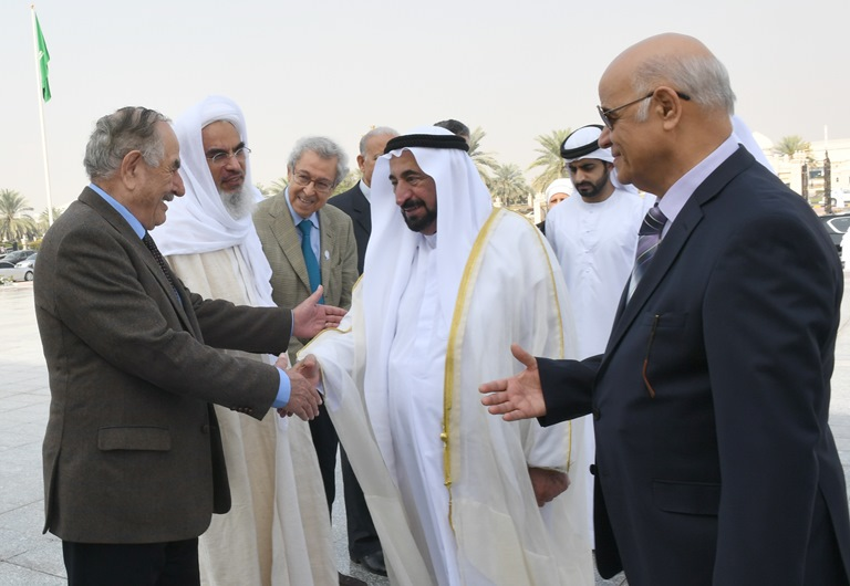 His Highness visit and Board of Trustees Meeting