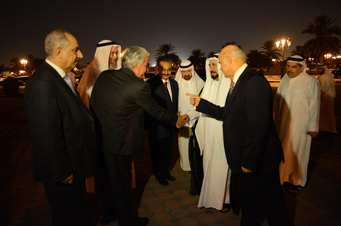 Visit of H.H. Ruler of Sharjah